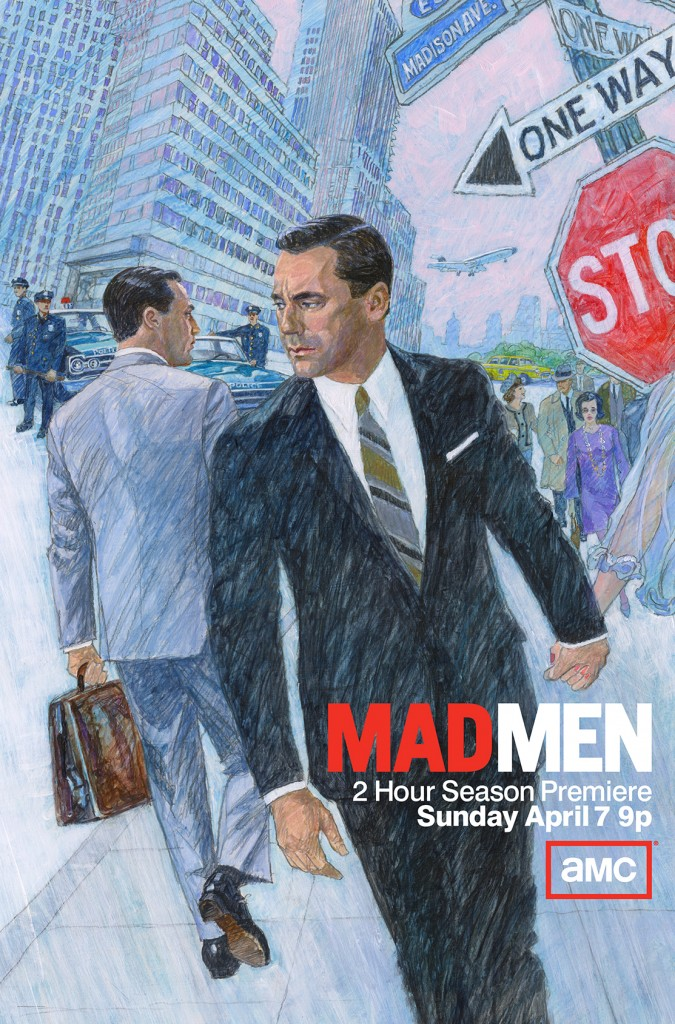 Mad Men S6 Key Art