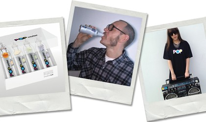 Terry Richardson Samples POPwater – The New Drink Hitting Stores This April
