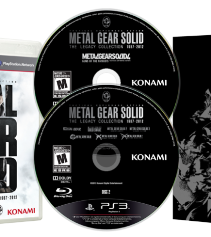Konami Announces Metal Gear Solid: The Legacy Collection Available On July 9th