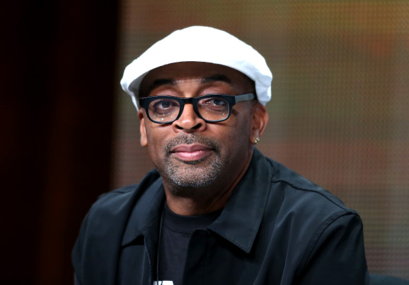"BEVERLY HILLS, CA - JULY 25:  Director Spike Lee speaks onstage during the ""Mike Tyson: Undisputed Truthts"" panel discussion at the HBO portion of the 2013 Summer Television Critics Association tour - Day 2 at the Beverly Hilton Hotel on July 25, 2013 in Beverly Hills, California.  (Photo by Frederick M. Brown/Getty Images)"
