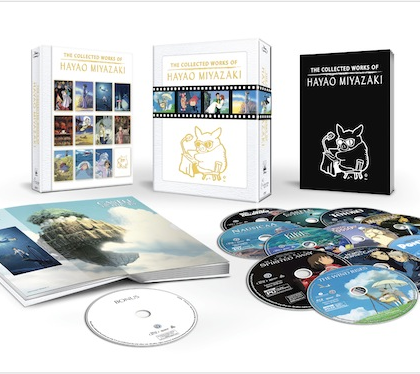 The Collected Works Of Hayao Miyazaki Available on Blu-ray Exclusively via Amazon.com on November 17