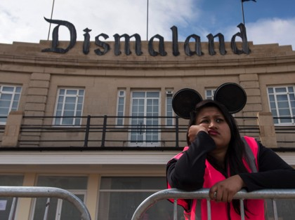 Dismaland: Banksy Creates Desolate 'Bemusement Park'