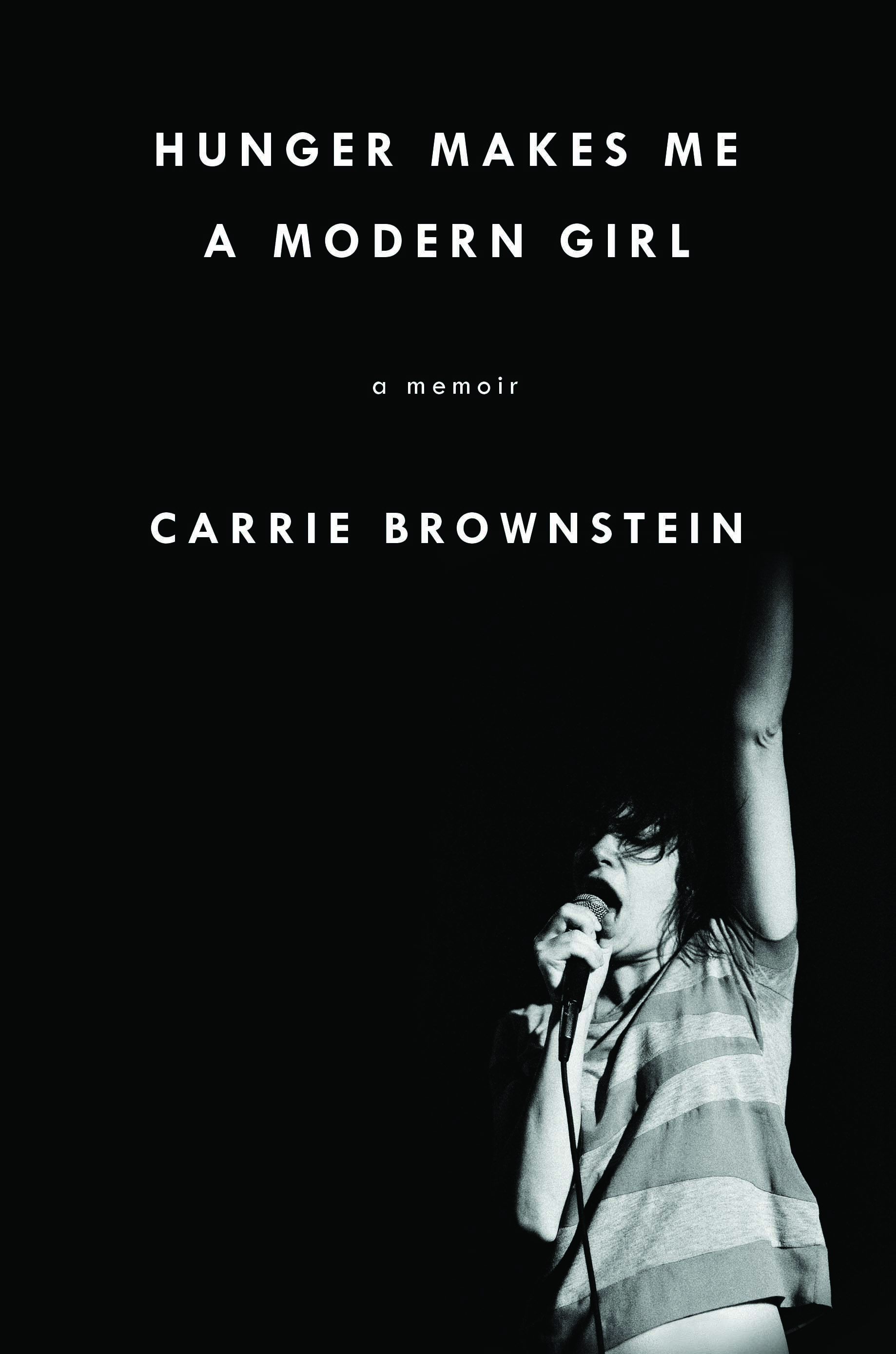 Cover - HUNGER MAKES ME A MODERN GIRL