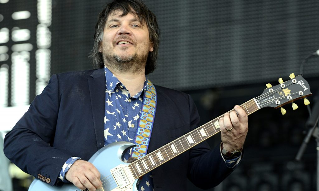 Jeff Tweedy of Wilco at Bonnaroo Music And Arts Festival on June 14, 2013 in Manchester, Tennessee