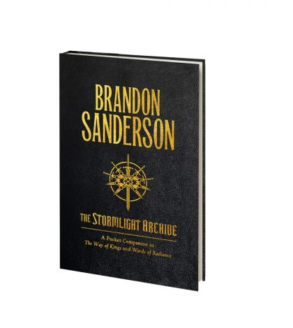 "Tor Books Releases ""The Stormlight Archive"" – Pocket Companion By Brandon Sanderson for Independent Bookstore Day (4/30)"