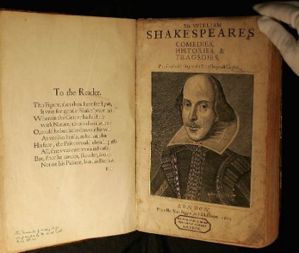 Rare Copy of Shakespeare Folio Found On Scottish Isle