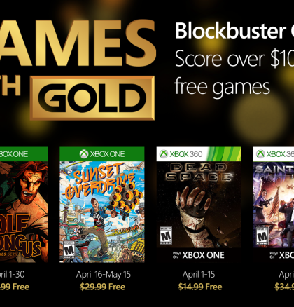 Games With Gold – April 2016