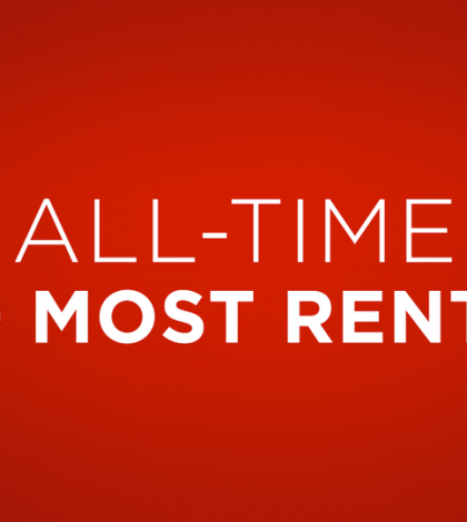 Netflix's All-Time 100 Most Rented DVD Titles