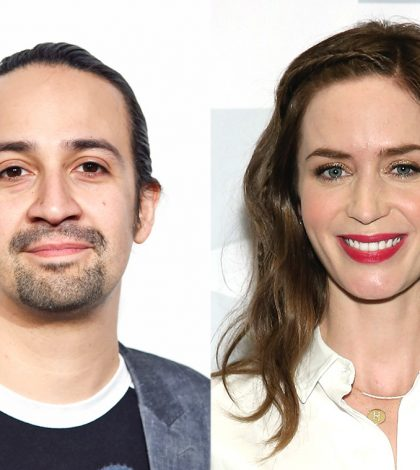 Emily Blunt & Lin-Manuel Miranda to Star in Mary Poppins Returns
