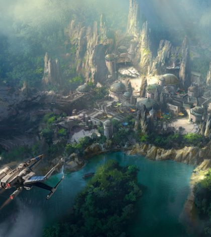 See the Concept Images of Disneyland's Star Wars-Themed Park