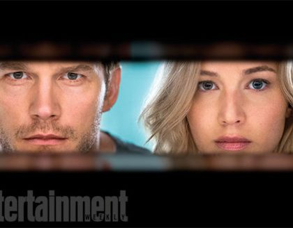 First Look at Jennifer Lawrence and Chris Pratt's Sci-Fi Love Story Passengers