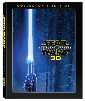 """Star Wars: The Force Awakens"" 3D Collector's Edition Arrives in the US and Canada Nov 15"